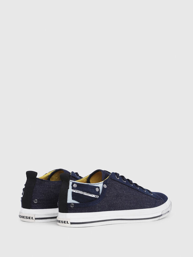Diesel - EXPOSURE LOW I, Dark Blue - Sneakers - Image 3