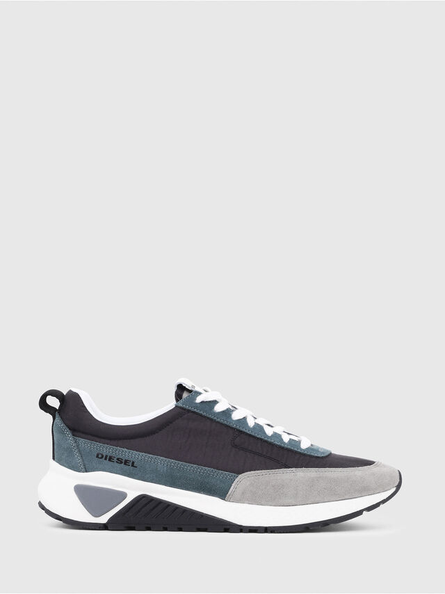 Diesel - S-KB LOW LACE, Grey/Blue - Sneakers - Image 1