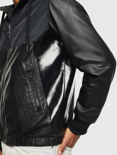 Diesel - L-CARRS,  - Leather jackets - Image 5