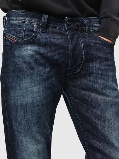 Diesel - Larkee 0095W, Dark Blue - Jeans - Image 3