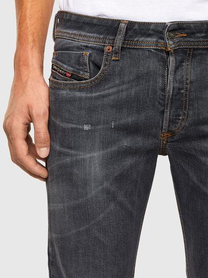 Diesel - Sleenker 009DJ, Black/Dark grey - Jeans - Image 3