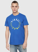 T-DIEGO-Y2, Brilliant Blue - T-Shirts