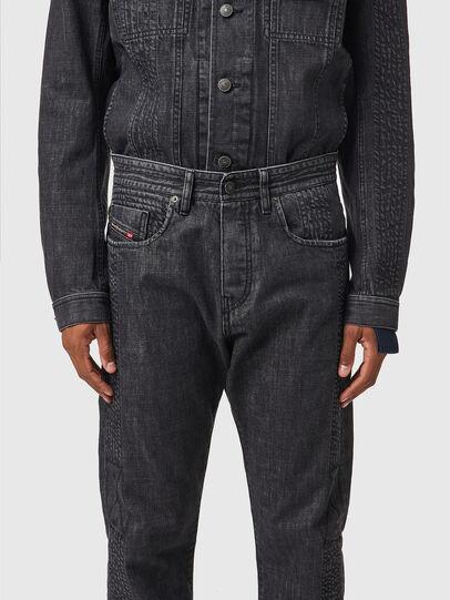 Diesel - D-Viker 0AFAF, Black/Dark grey - Jeans - Image 3