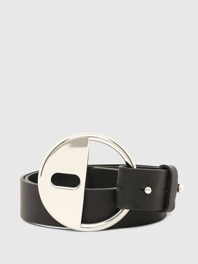 Diesel - B-DLOCK, Black - Belts - Image 1