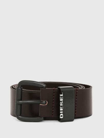 Diesel - B-ZANO, Dark Brown - Belts - Image 1