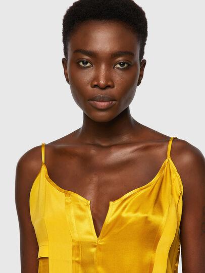 Diesel - D-BIANCA, Yellow - Dresses - Image 3