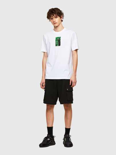 Diesel - T-JUST-E11, White - T-Shirts - Image 4