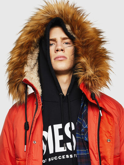 Diesel - W-BURKISK, Orange - Winter Jackets - Image 6
