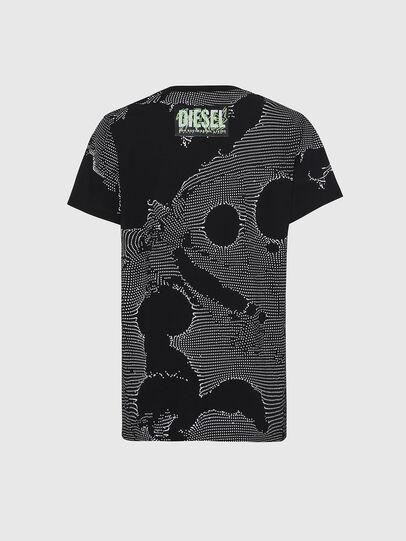 Diesel - T-DARIA-E4, Black - T-Shirts - Image 2