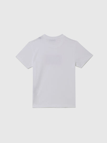 Diesel - TJUSTX62, White - T-shirts and Tops - Image 2
