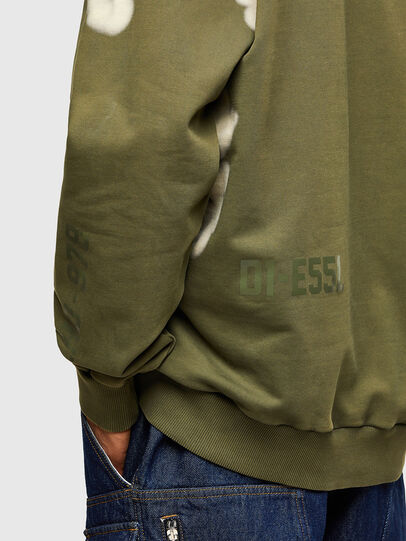 Diesel - S-GIRK-A62, Military Green - Sweaters - Image 4