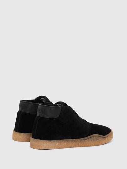 Diesel - H-CLEVER PAR DESERT, Black - Sneakers - Image 3