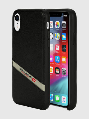 DIESEL LEATHER CO-MOLD CASE FOR IPHONE XR,  - Cases