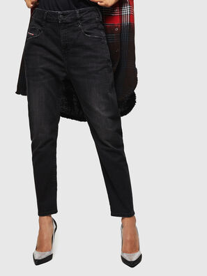 Fayza 069BG, Black/Dark grey - Jeans