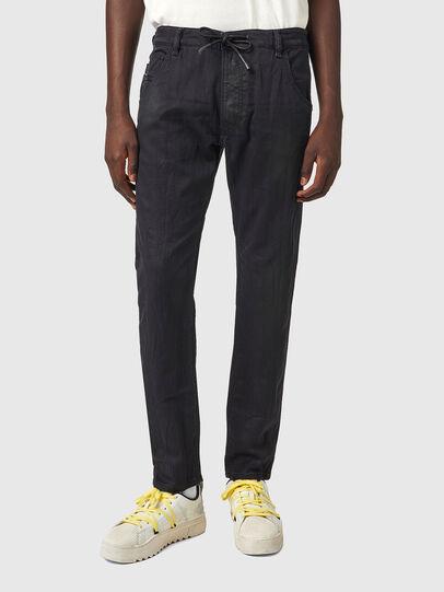 Diesel - Krooley JoggJeans® 069WW, Black/Dark grey - Jeans - Image 1