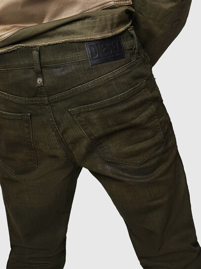 Diesel - Mharky 0078D, Military Green - Jeans - Image 4