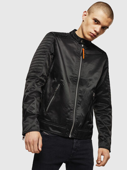 Diesel - J-SHIRO, Black - Jackets - Image 1