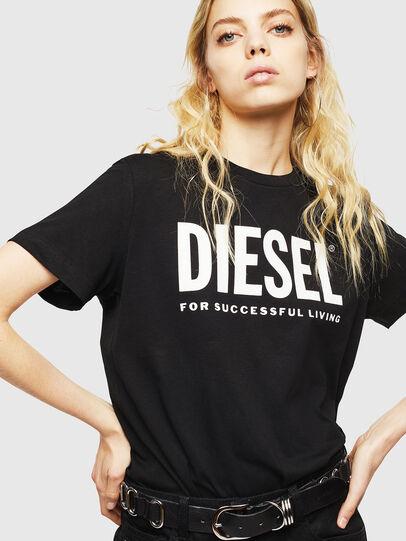 Diesel - T-DIEGO-LOGO, Black - T-Shirts - Image 6