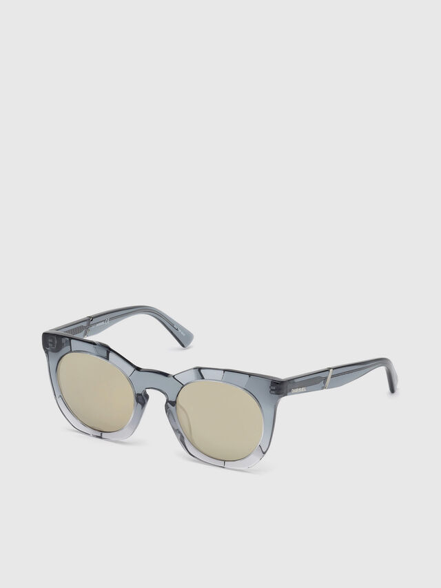 Diesel - DL0270, Grey - Sunglasses - Image 2