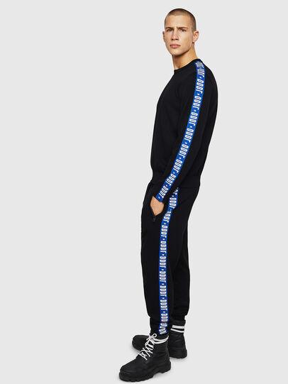 Diesel - K-TRACKY-B, Black/Blue - Knitwear - Image 5