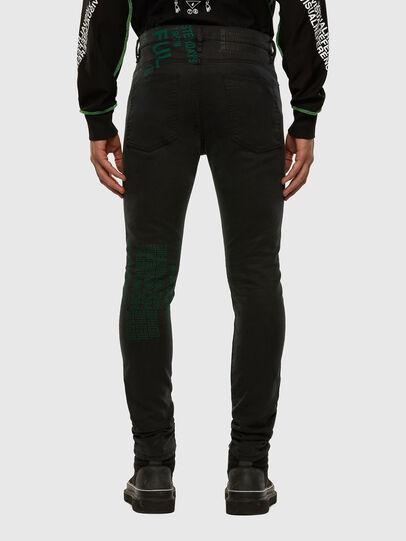 Diesel - D-REEFT JoggJeans® 009HD, Black/Dark grey - Jeans - Image 2