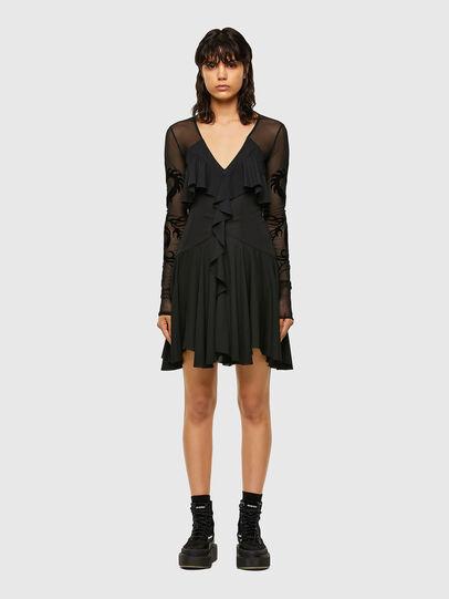 Diesel - D-ADELE, Black - Dresses - Image 1