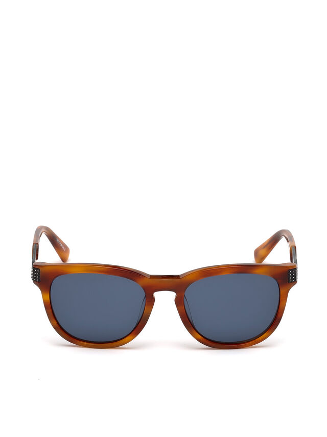 Diesel DL0237, Light Brown - Eyewear - Image 1