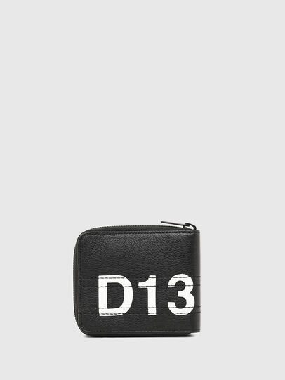 Diesel - ZIPPY HIRESH S, Black/White - Zip-Round Wallets - Image 2