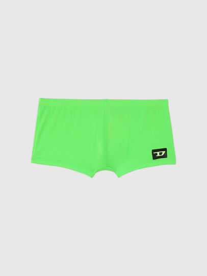 Diesel - BMBX-HERO, Green Fluo - Swim trunks - Image 4