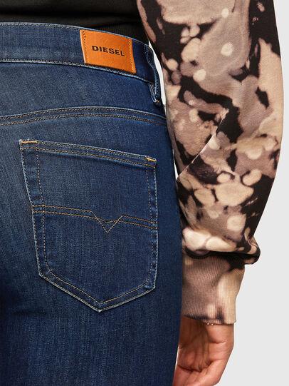 Diesel - D-Roisin 009PF, Dark Blue - Jeans - Image 4