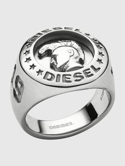 Diesel - DX1231, Silver - Rings - Image 1