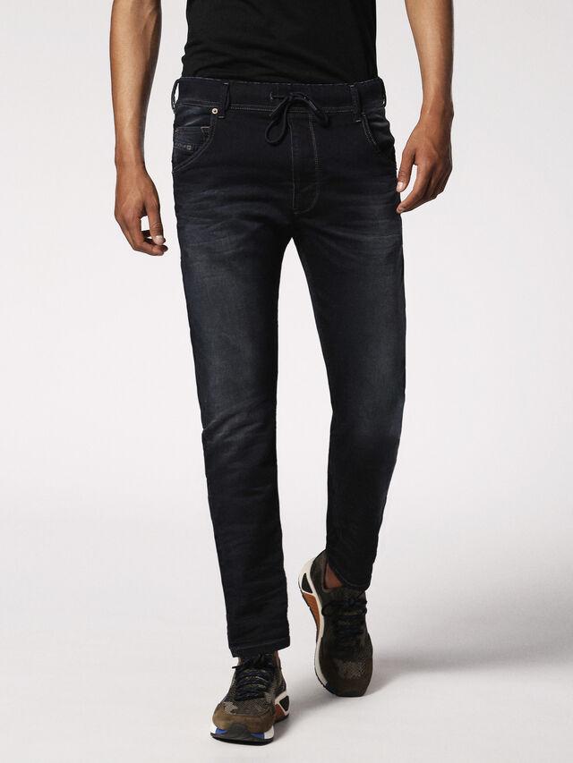 Diesel - KROOLEY JOGGJEANS 0686F, Dark Blue - Jeans - Image 1