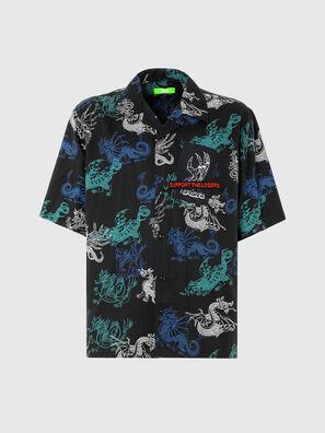 S-BEACH, Black - Shirts