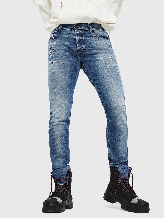 Diesel - Tepphar 0090L, Light Blue - Jeans - Image 1