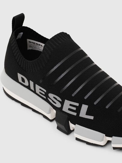 Diesel - H-PADOLA LOW SOCK, Black - Sneakers - Image 6