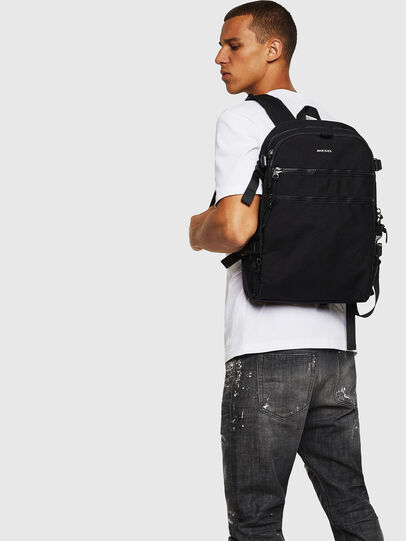 Diesel - F- URBHANITY BACK, Black - Backpacks - Image 7