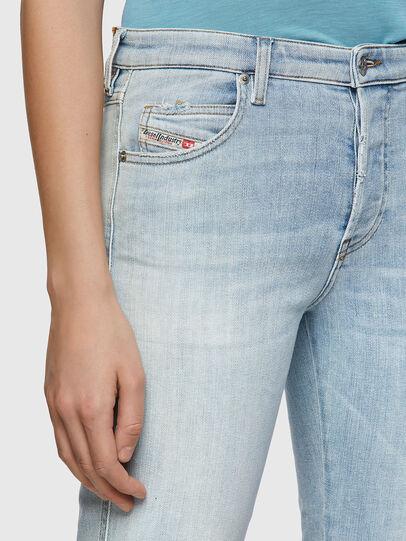 Diesel - Babhila 009ZZ, Light Blue - Jeans - Image 4