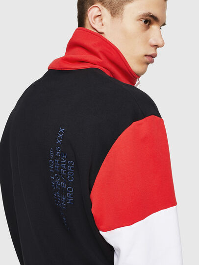 Diesel - S-LEONID, Black/Red - Sweaters - Image 5