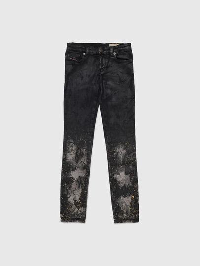 Diesel - SKINZEE-LOW-J JOGGJEANS-N, Black/Dark grey - Jeans - Image 1