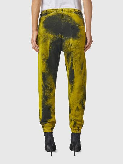 Diesel - P-CALTON-RIB-B1, Yellow/Green - Pants - Image 4
