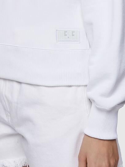 Diesel - F-LYM-HOOD-C.C, White - Sweaters - Image 4