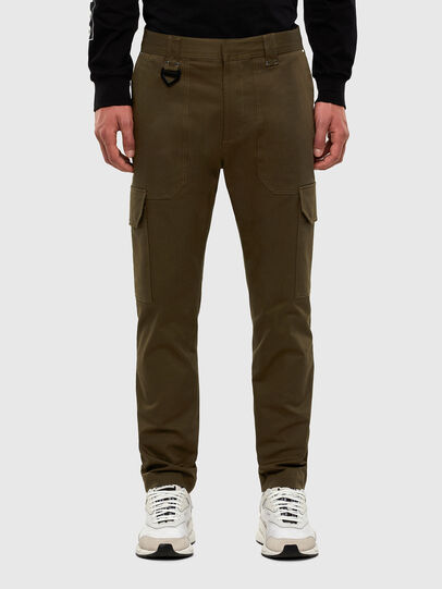Diesel - P-BAKER-SLIM, Military Green - Pants - Image 1