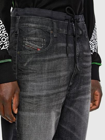 Diesel - D-Skint JoggJeans® 069PC, Black/Dark grey - Jeans - Image 3