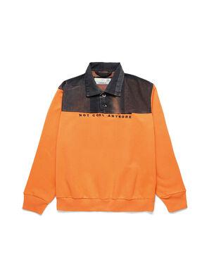 D-BNHILL-S, Orange - Sweaters