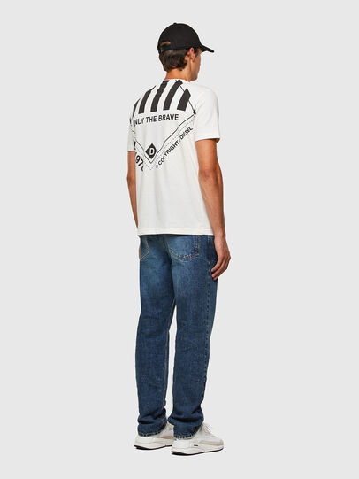 Diesel - T-JUST-N40, White - T-Shirts - Image 8