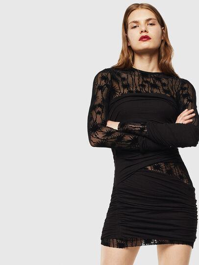 Diesel - D-LARY, Black - Dresses - Image 1