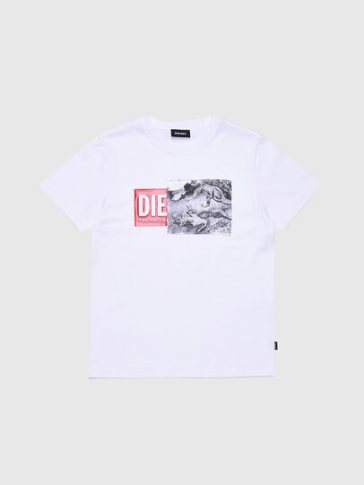 Diesel - TJUSTXH, White - T-shirts and Tops - Image 1