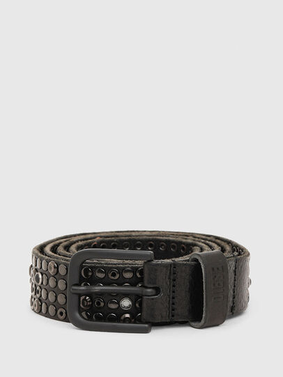 Diesel - B-GIO II, Black - Belts - Image 1