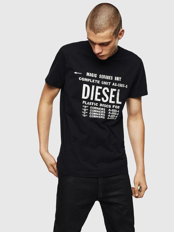 T-DIEGO-B6, Black - T-Shirts