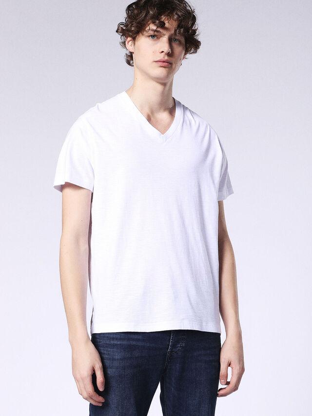 Diesel - T-RENE, White - T-Shirts - Image 1